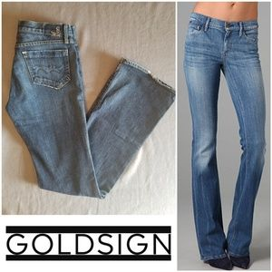 EUC GOLDSIGN Luxury Denim Passion Bootcut Jeans